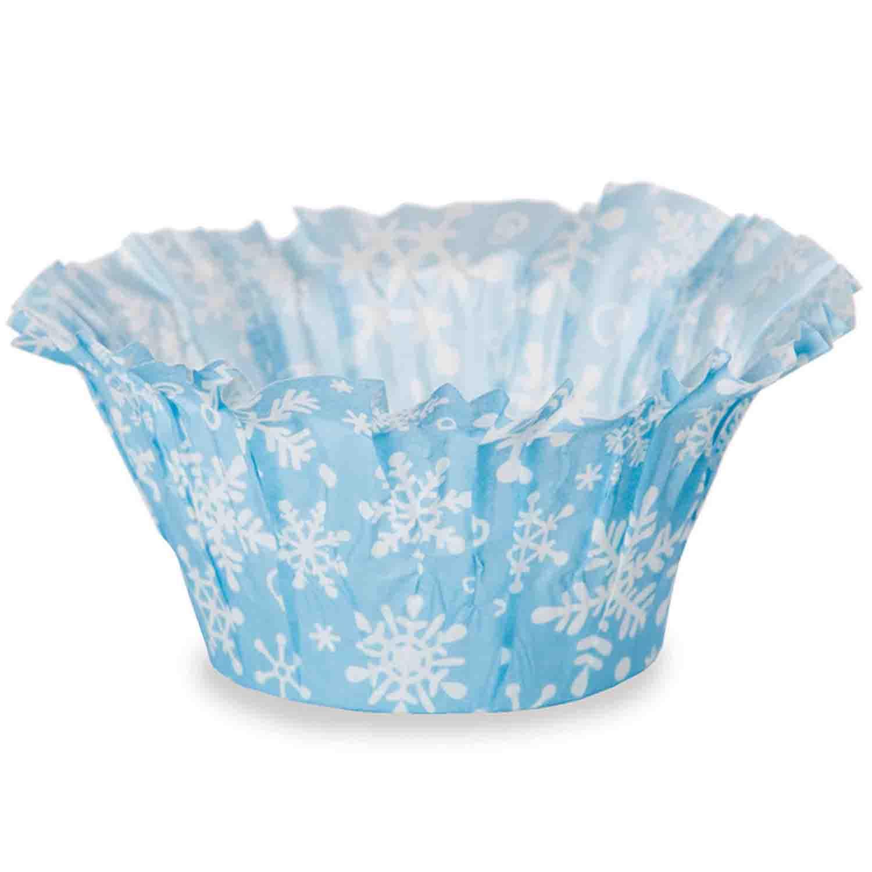 Snowflake Muffin Baskets