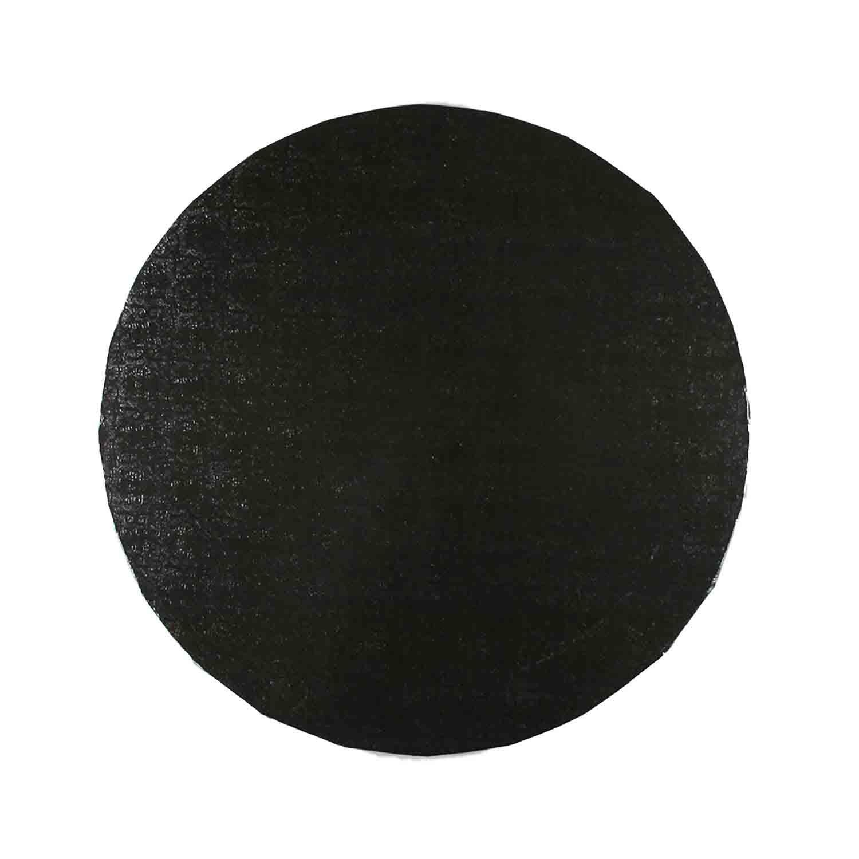 """18"""" Round Black Foil Cake Drum"""