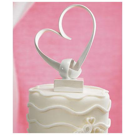 """My Love"" Heart Cake Topper"