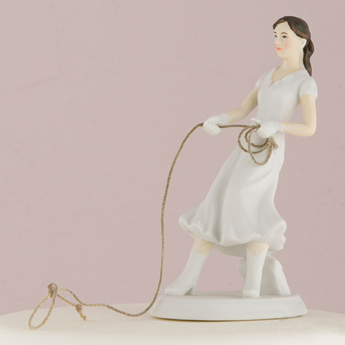 Western Bride Cake Topper - GROOM SOLD SEPARATELY