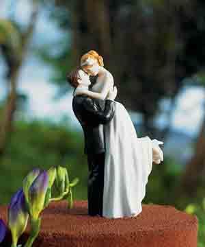 True Romance Couple Cake Topper