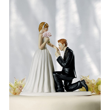"A ""Cinderella Moment"" Cake Topper"