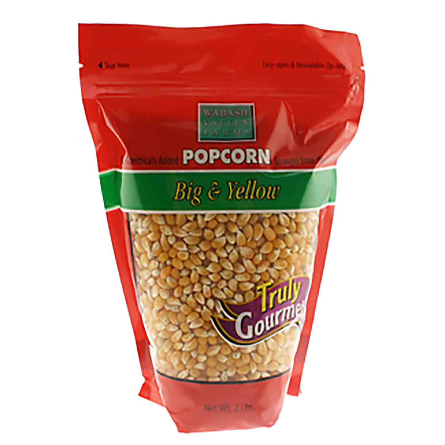 Yellow Gourmet PopCorn