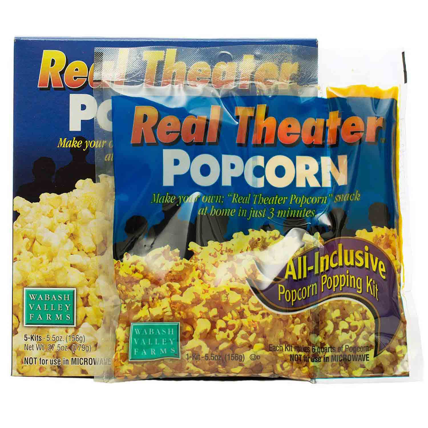 Real Theater Popcorn Pouch