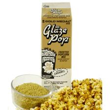 Caramel Popcorn Glaze Topping