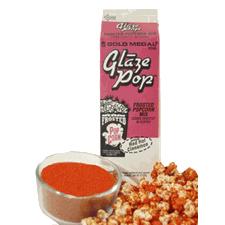 Red Hot Cinnamon Popcorn Glaze Topping