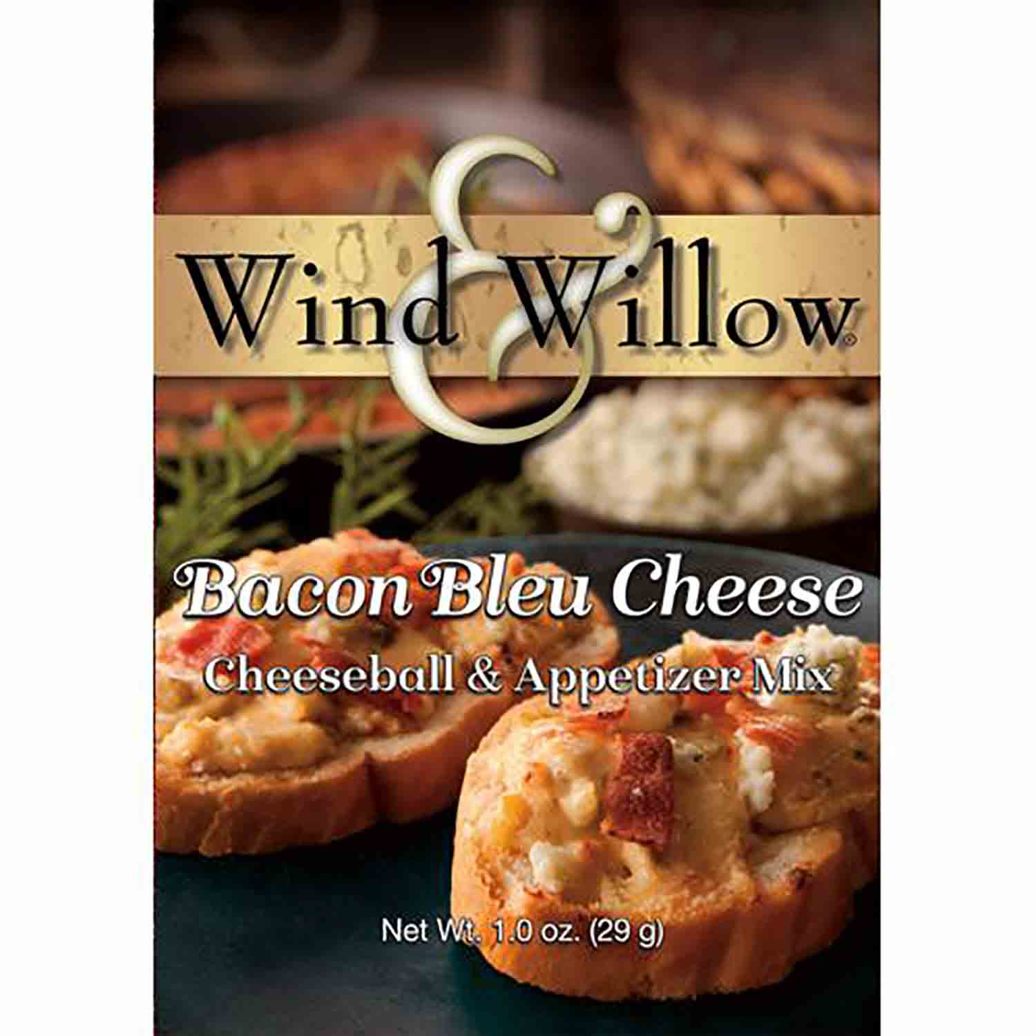 Bacon Bleu Cheese Wind & Willow Cheeseball Mix