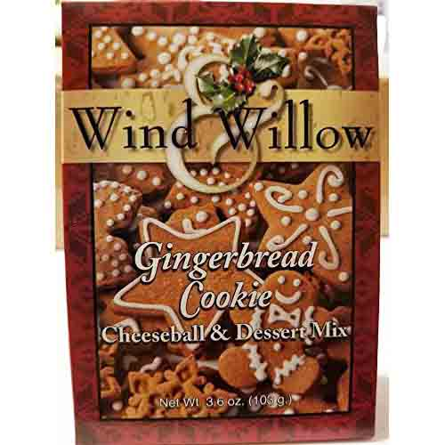 Gingerbread Cookie Wind & Willow Cheeseball Mix