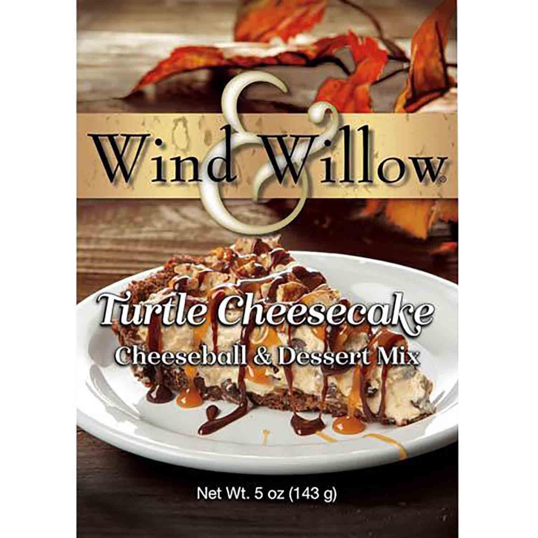 Turtle Cheesecake Wind & Willow Cheeseball Mix