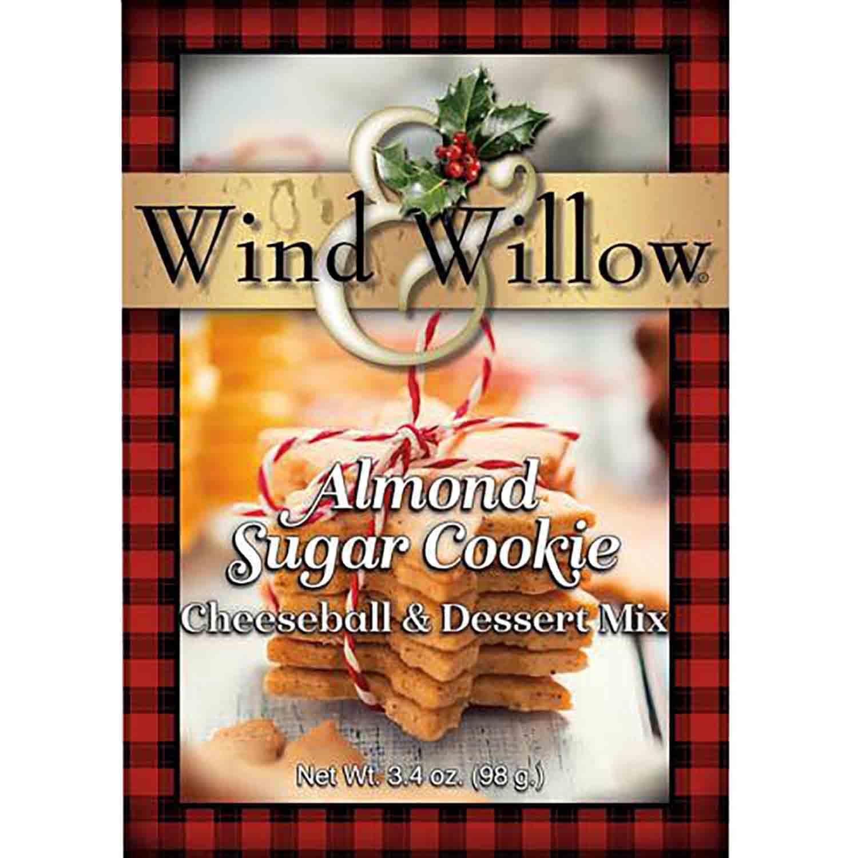 Almond Sugar Cookie Cheeseball Mix