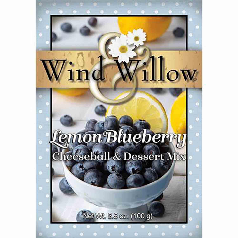 Lemon Blueberry Cheeseball Mix