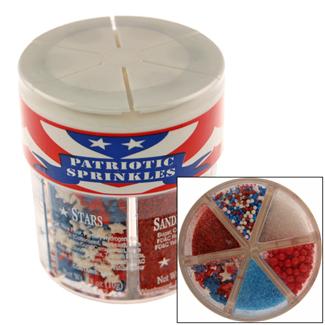 Patriotic Sprinkle Assortment