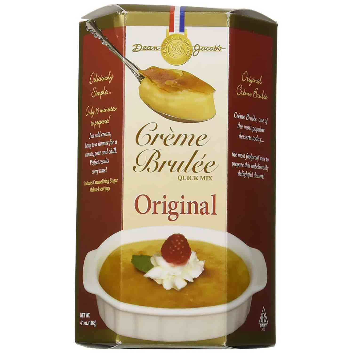 Traditional Crème Brulee Mix