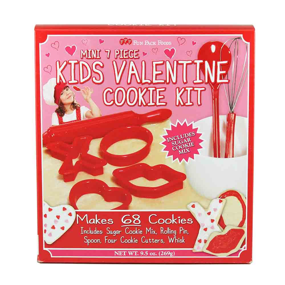 Kids Valentine Cookie Kit