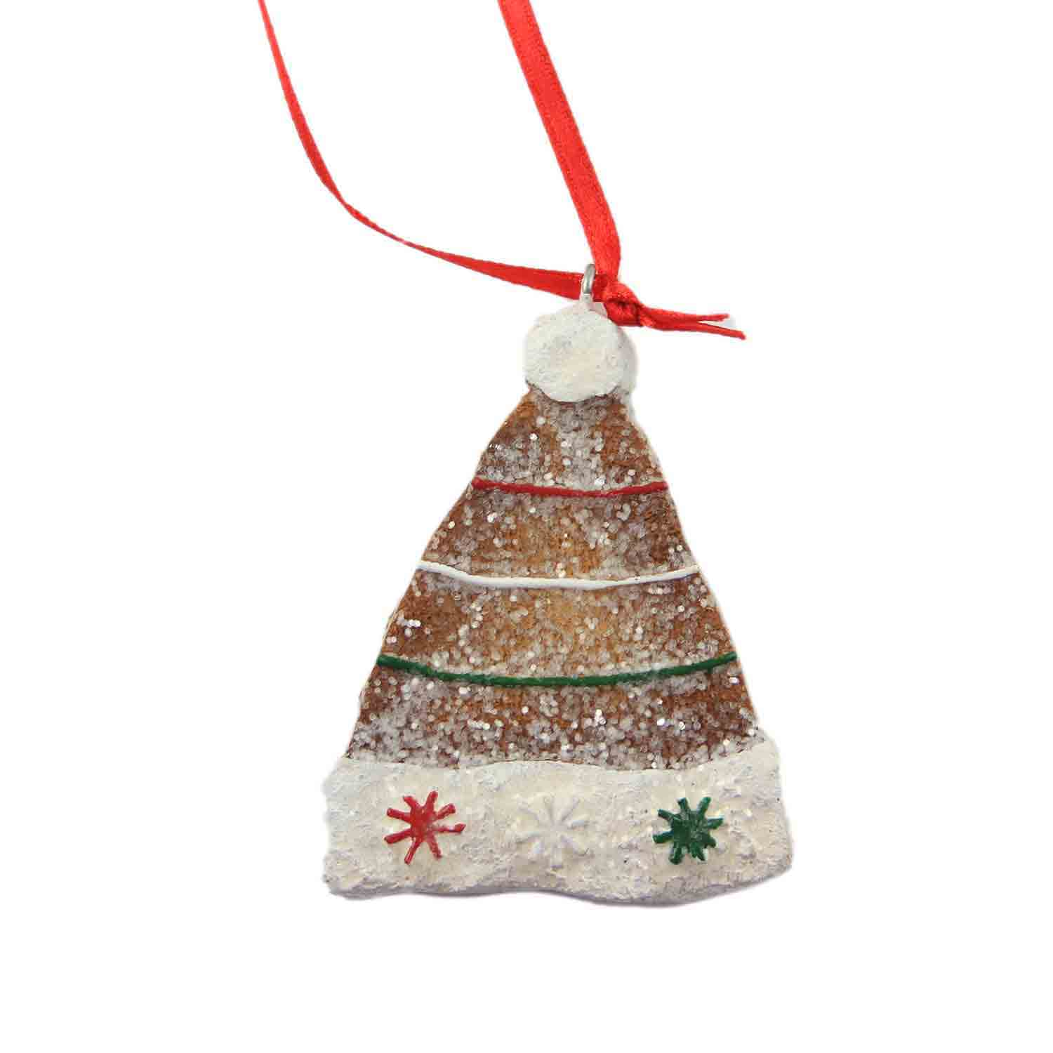 Gingerbread Hat Ornament