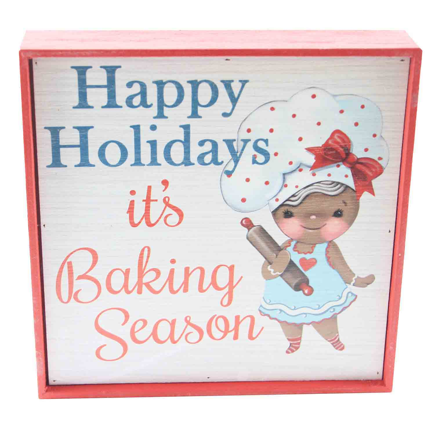 It's Baking Season Box Sign