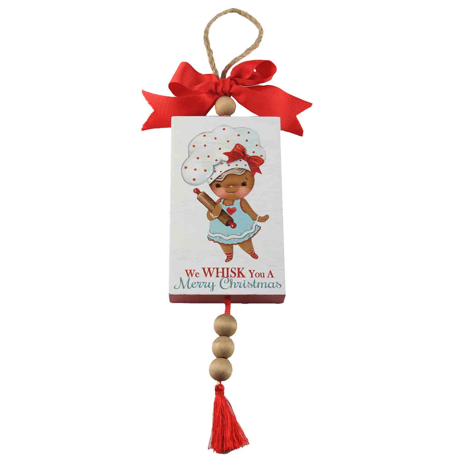 Whisk You A Merry Christmas Wooden Sign