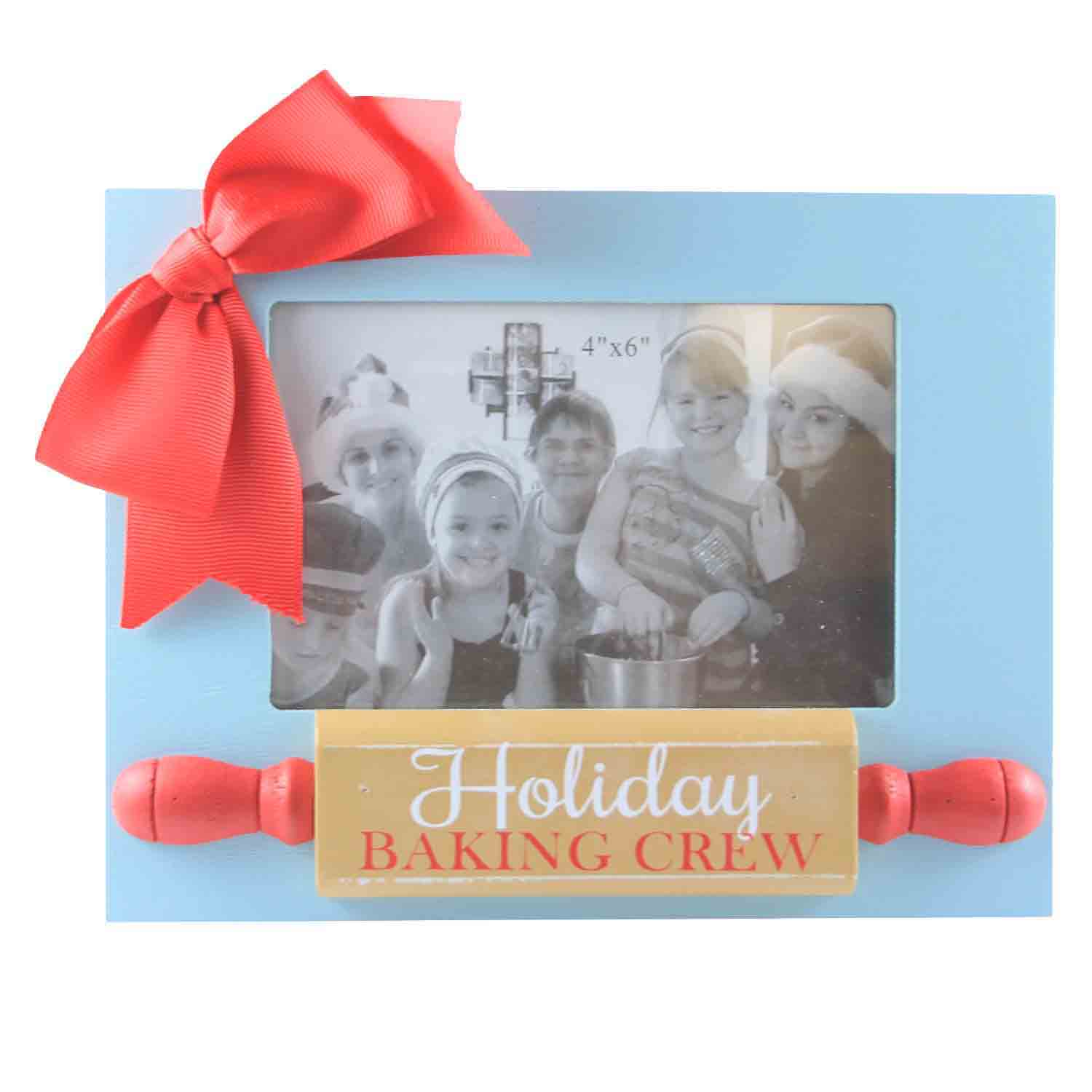 Holiday Baking Crew Photo Frame