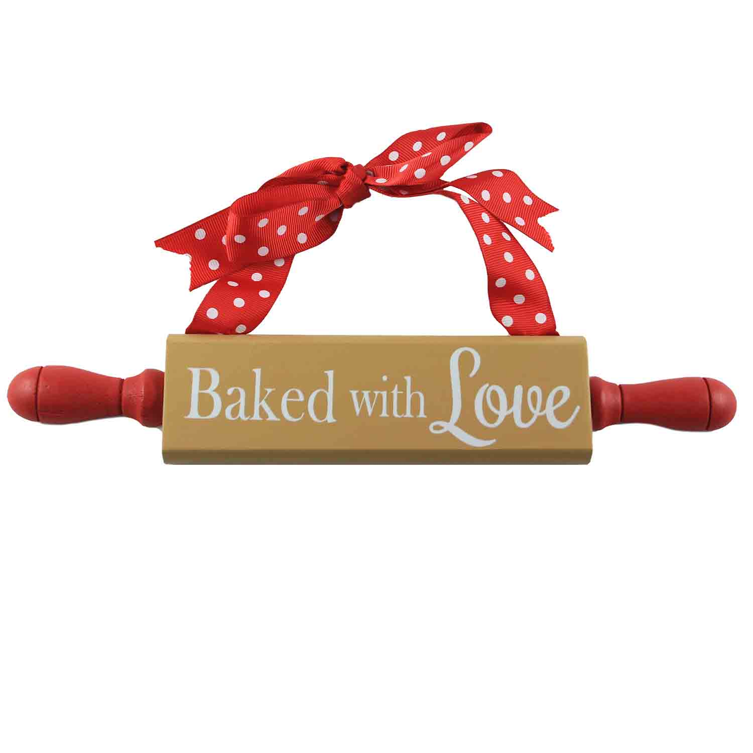Baked With Love Rolling Pin Sign