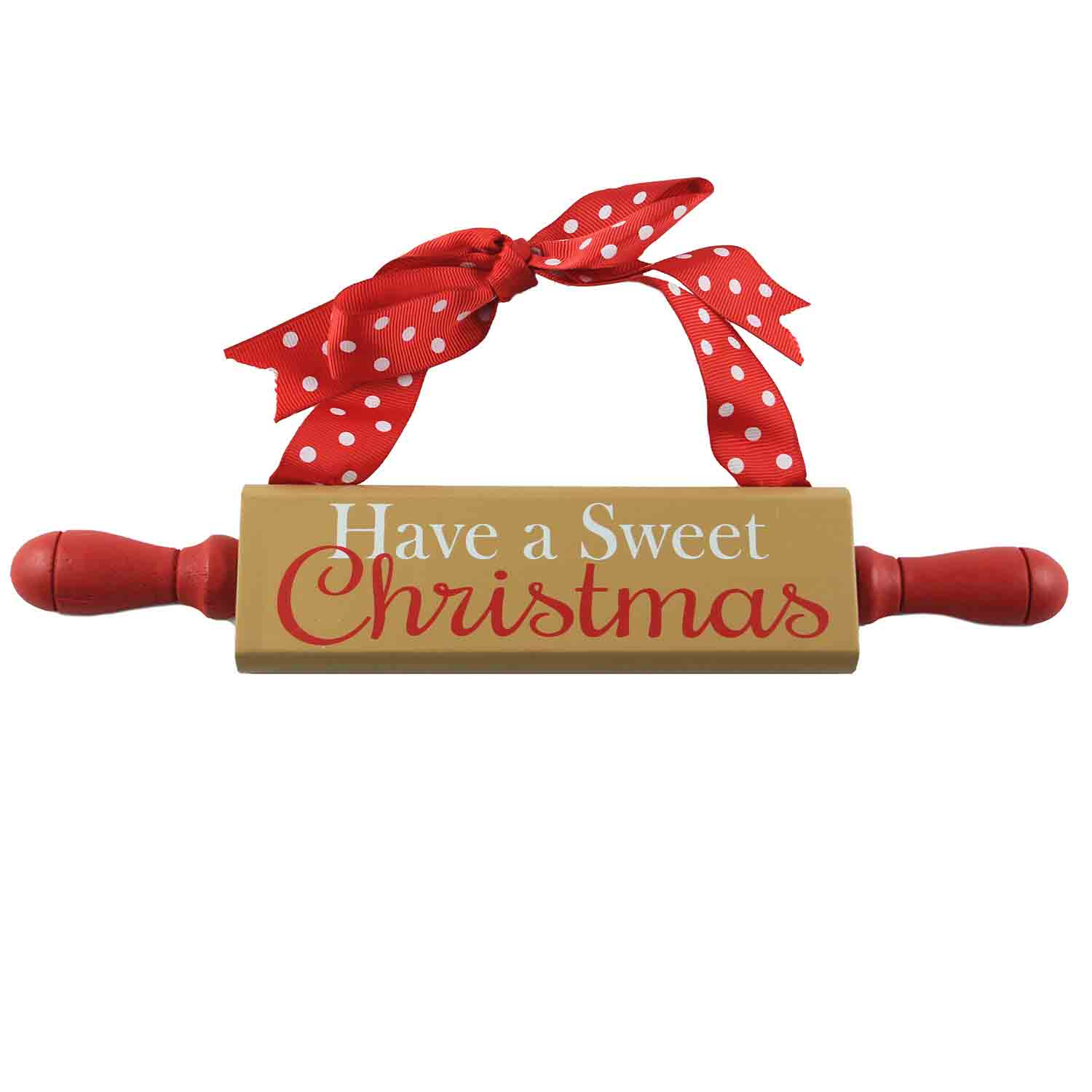Sweet Christmas Rolling Pin Sign