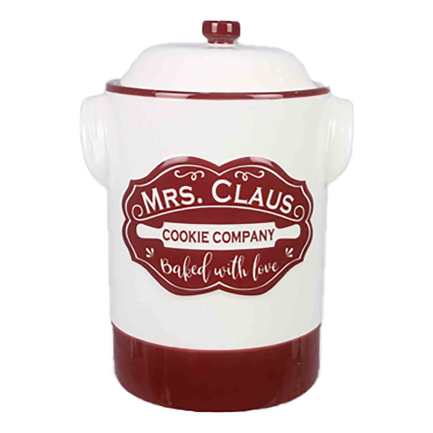 Mrs Claus Cookie Company Jar