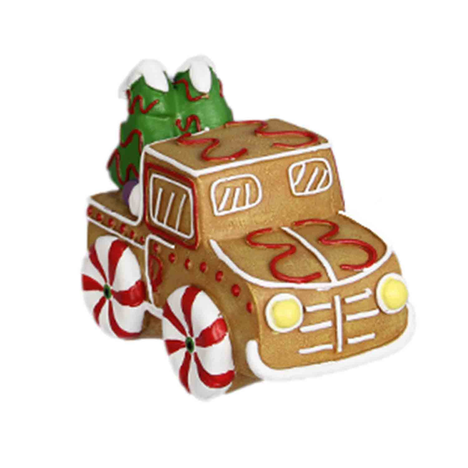 Resin Gingerbread Truck