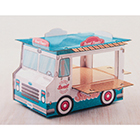 Doughnut Truck Treat Stand