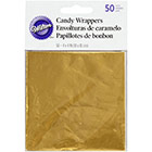 Gold Candy Wrappers
