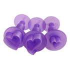 Hearts Mini Fondant Plunger Cutter Set