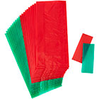Red and Green Treat Bags
