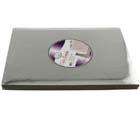 "10"" x 14"" Rectangle Silver Cake Cardboards"