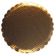 "8"" Gold Corrugated Round Cake Cardboards"