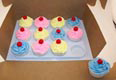 Cupcake Insert for Cake Box
