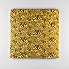"10"" Square Gold Foil Cake Drum"