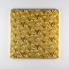 "8"" Square Gold Foil Cake Drum"