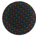 "12"" Black Multi Dots Cake Cardboards"