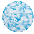 "12"" Clouds Cake Cardboards"