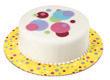 "12"" Sweet Dots Cake Cardboards"