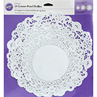 "8, 10, 12"" Greaseproof Round Doilies"
