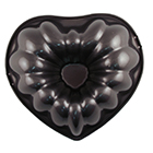 Heart Fluted Tube Cake Pan