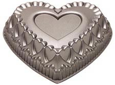 Crown of Hearts Dimensions® Cake Pan