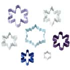 Assorted Snowflakes Cookie Cutter Set