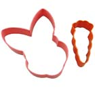Bunny and Carrot Cookie Cutter Set