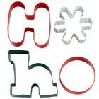 Ho Ho Cookie Cutter Set