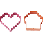 Pixel Cookie Cutter Set