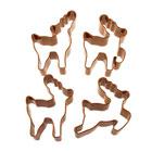 Reindeer Cookie Cutter Set