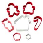 Holiday Candy Cookie Cutter Set