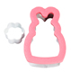 Comfort Grip Bunny Cookie Cutter Set