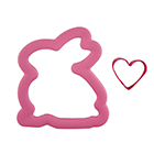 Comfort Grip Sitting Bunny Cookie Cutter Set