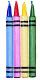 Jumbo Crayon Candles